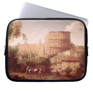 A View of the Colosseum with a Traveller, 1731 (oi Computer Sleeve