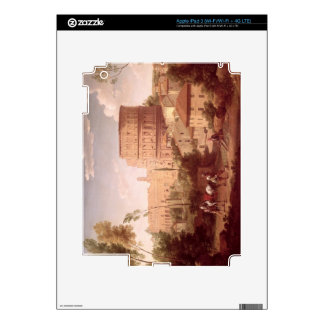 A View of the Colosseum with a Traveller, 1731 (oi iPad 3 Decal