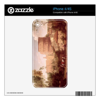 A View of the Colosseum with a Traveller, 1731 (oi iPhone 4 Decal
