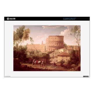 A View of the Colosseum with a Traveller, 1731 (oi Laptop Decal