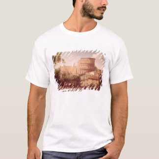 A View of the Colosseum with a Traveller, 1731 (oi T-Shirt