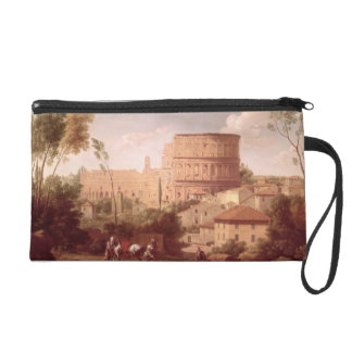 A View of the Colosseum with a Traveller, 1731 (oi Wristlet
