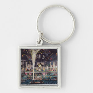 A view of the Fire-workes and Illuminations Keychain