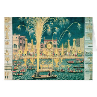 A View of the Fireworks and Illuminations Card