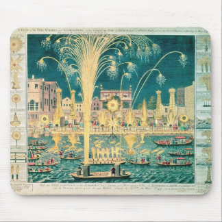 A View of the Fireworks and Illuminations Mouse Pad