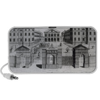 A View of the Foundling Hospital, 1756 Portable Speaker