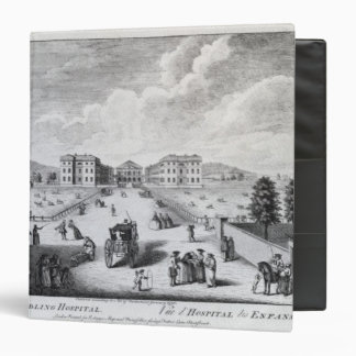 A View of the Foundling Hospital 3 Ring Binder