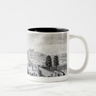 A View of the Foundling Hospital Two-Tone Coffee Mug