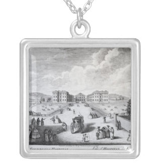 A View of the Foundling Hospital Square Pendant Necklace