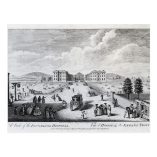 A View of the Foundling Hospital Postcard