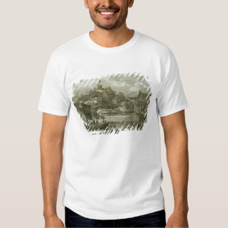 A View of the Gardens of the Imperial Palace, Peki T-Shirt