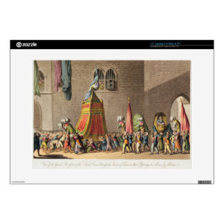 """A View of the Grand Procession of the Sacred Camel 15"""" Laptop Decals"""