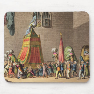 A View of the Grand Procession of the Sacred Camel Mouse Pad