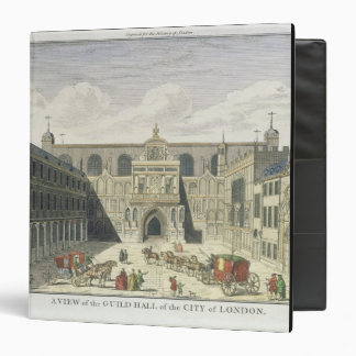 A View of the Guild Hall of the City of London, fr Binder