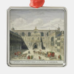 A View of the Guild Hall of the City of London, fr Christmas Ornaments