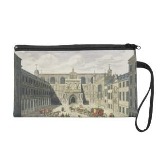 A View of the Guild Hall of the City of London, fr Wristlet Purse