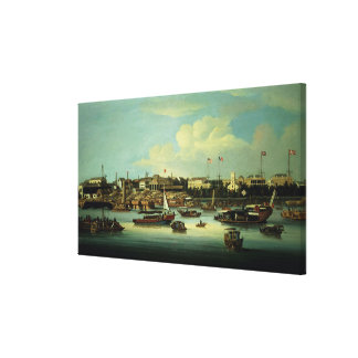 A View of the Hongs Canvas Print