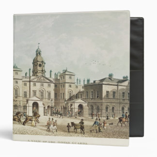 A view of the Horse Guards from Whitehall 3 Ring Binder