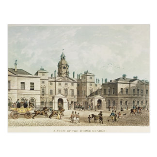 A view of the Horse Guards from Whitehall Postcard