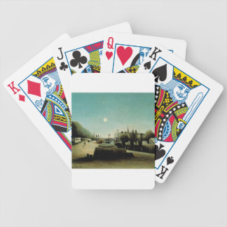 A View of the Ile Saint Louis from Port Saint Nico Bicycle Playing Cards