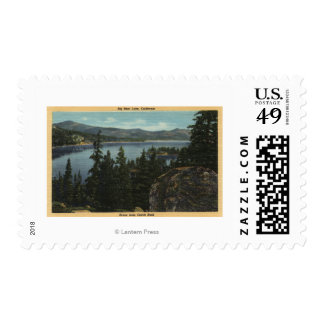 A View of the Lake from Castle Rock Postage