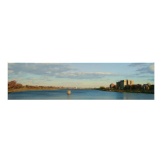 A View of the Lake in Druid Hill Park Poster