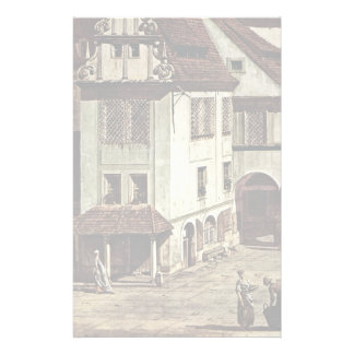 A View Of The Market Place Of Pirna Pirna Detail Stationery