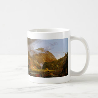 A View of the Mountain Pass Coffee Mug