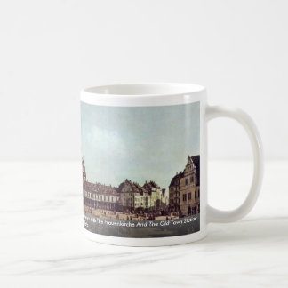A View Of The Neumarkt In Dresden Classic White Coffee Mug
