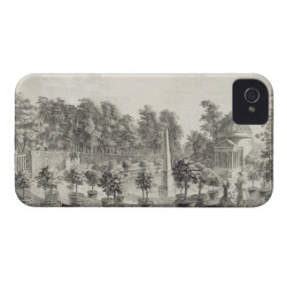 A View of the Orangery, Lord Burlington's Garden a Case-Mate iPhone 4 Cases