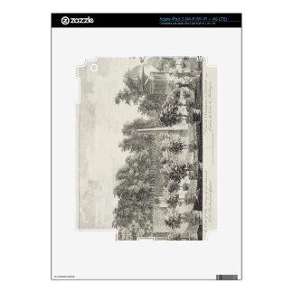 A View of the Orangery, Lord Burlington's Garden a iPad 3 Decal