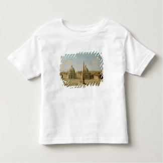 A View of the Piazza del Popolo (oil on canvas) Toddler T-shirt