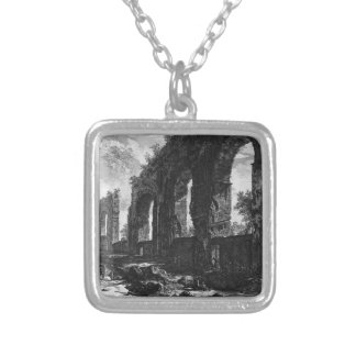 A view of the progress of the Water Castle Julia Square Pendant Necklace