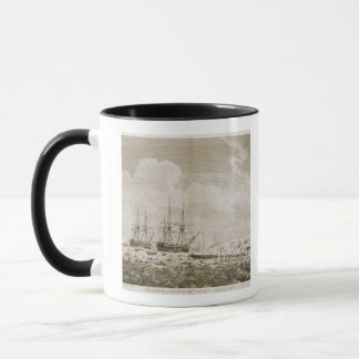 A View of the 'Racehorse' and 'Carcass', August 7t Mug