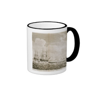 A View of the 'Racehorse' and 'Carcass', August 7t Coffee Mugs