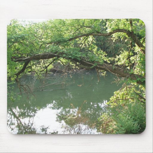A View of the River Mouse Pad