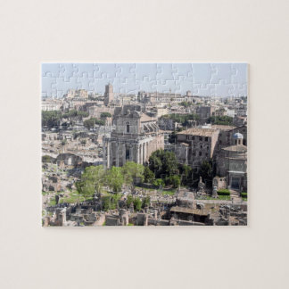 A view of the Rome Forum fome the Farnese Jigsaw Puzzle
