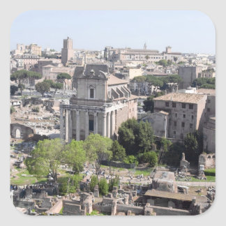A view of the Rome Forum fome the Farnese Square Sticker
