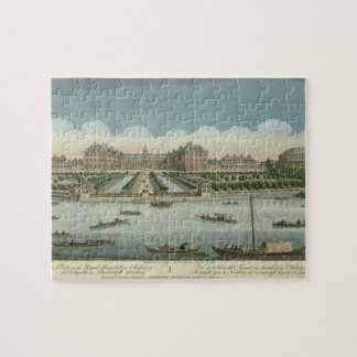 A View of the Royal Hospital at Chelsea and the Ro Puzzle