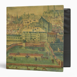 A View of the Royal Palace, Brussels 3 Ring Binders