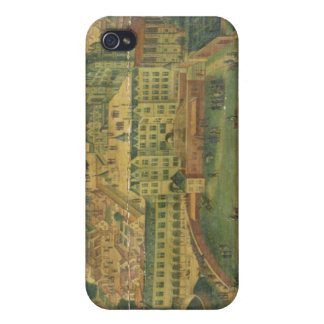 A View of the Royal Palace, Brussels iPhone 4 Cover