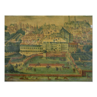 A View of the Royal Palace, Brussels Poster