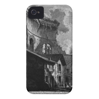 A view of the same mausoleum. by Giovanni Battista iPhone 4 Case