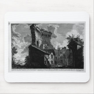 A view of the same mausoleum. by Giovanni Battista Mouse Pad