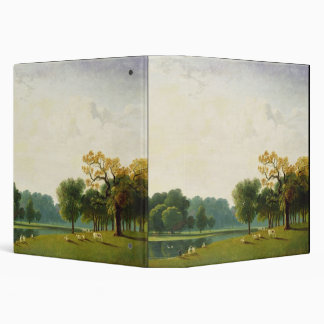 A View of the Serpentine, 1815 (oil on canvas) Binder