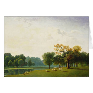 A View of the Serpentine, 1815 (oil on canvas) Card