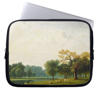 A View of the Serpentine, 1815 (oil on canvas) Laptop Sleeve