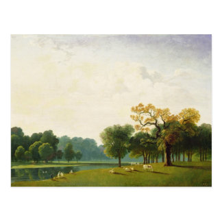 A View of the Serpentine, 1815 (oil on canvas) Postcard