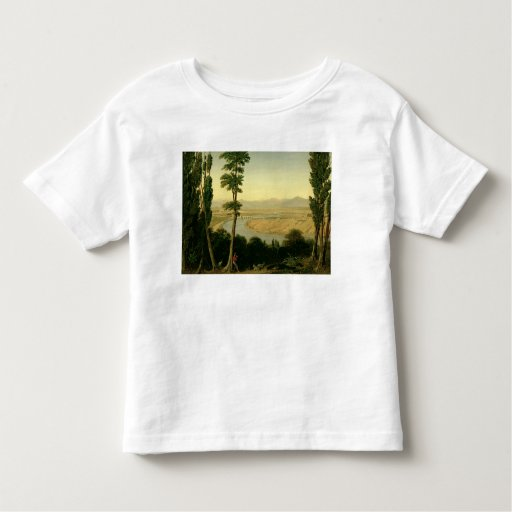 A View of the Tiber and the Roman Campagna Toddler T-shirt