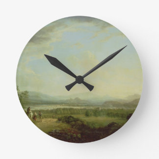 A View of the Town of Stirling on the River Forth Wall Clock